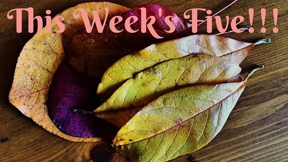 Copy of This Week's Five!!!