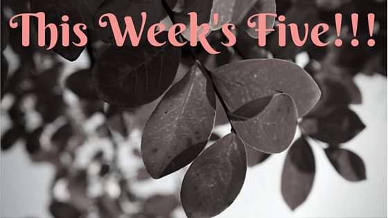 This Week's Five!!!