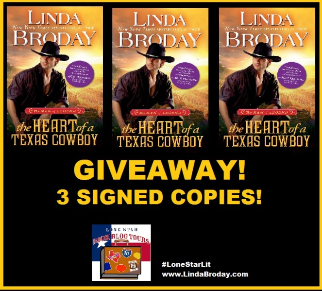 Giveaway Image Heart of a TX Cowboy