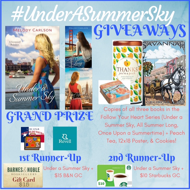 Giveaway Image Under a Summer Sky