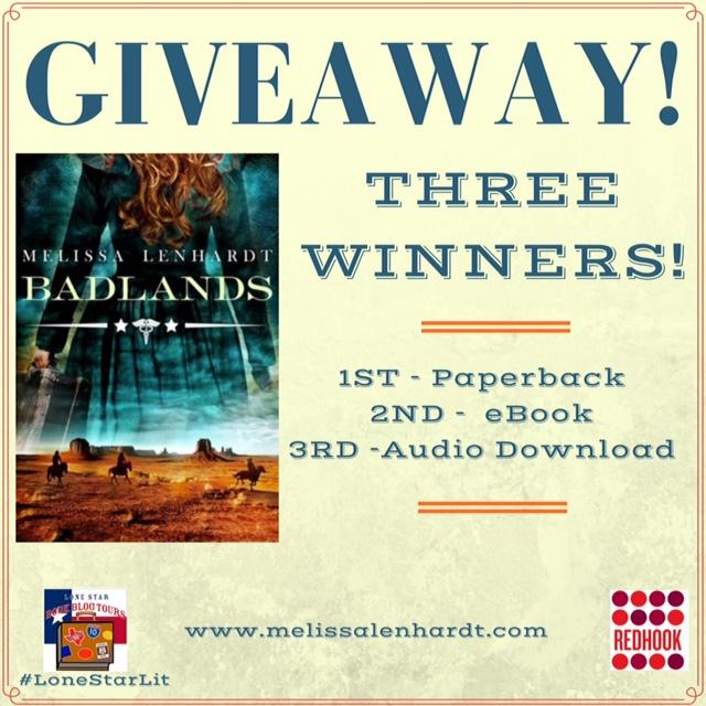 giveaway image Badlands