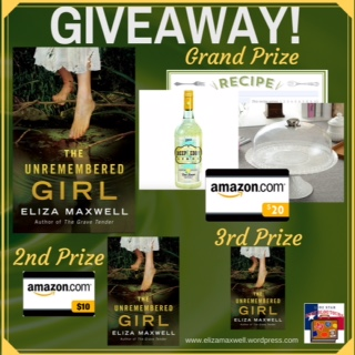 Giveaway Image Unremembered Girl