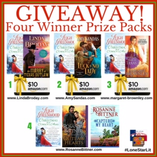Giveaway Image Christmas in a Cowboy's Arms
