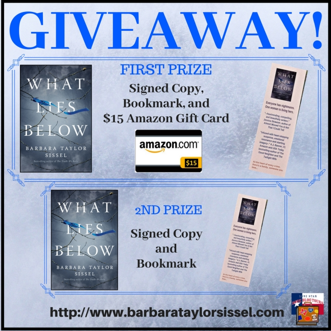 Giveaway What Lies Below